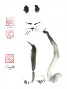 Zen Cat - as a sample only - SOLD